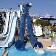 De Twister in het waterpretpark Aquasplash