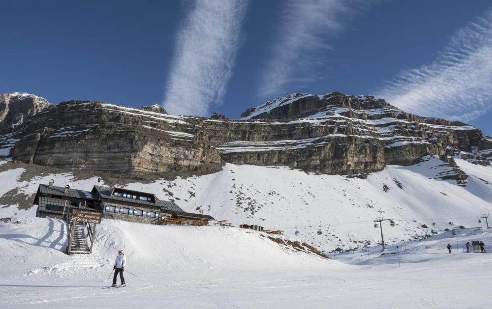 Skiën op de pistes van Madonna di Campiglio © Claudia Zanin