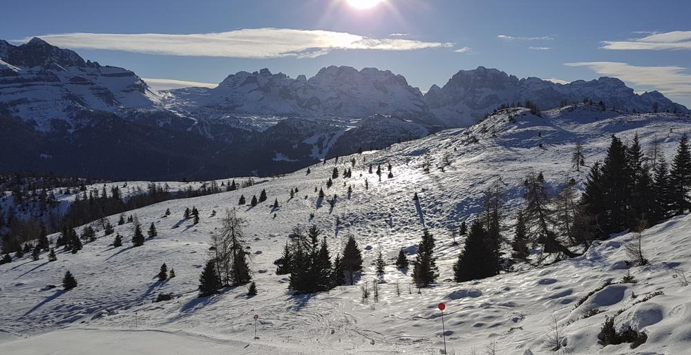 Skiën bij Folgarida Marilleva © Claudia Zanin