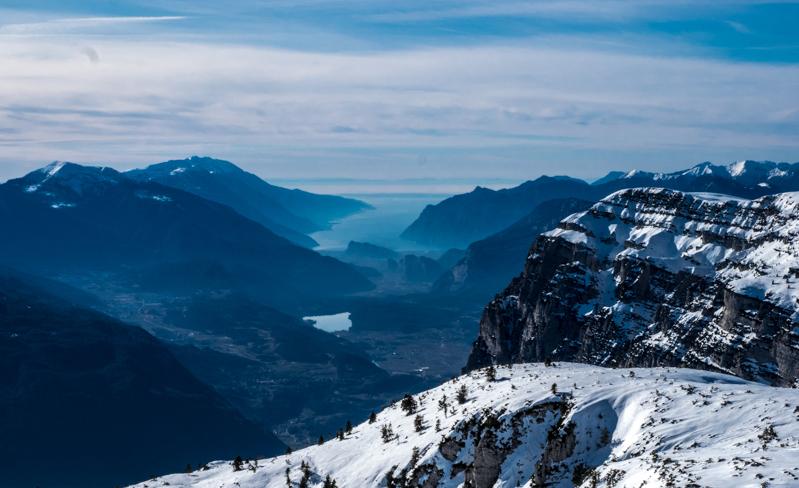 Op skisafare Skirama Dolomiti
