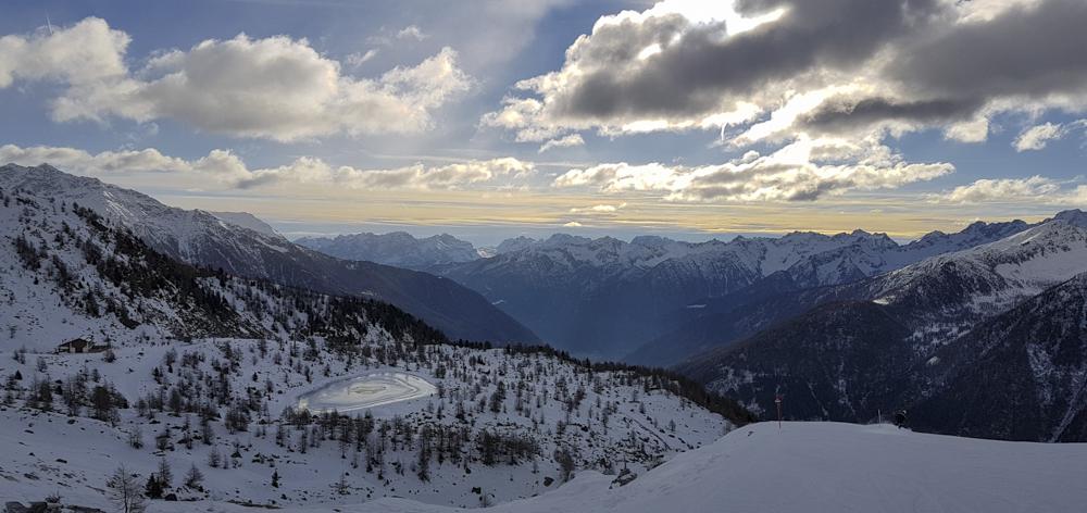 Skiën in Pejo © Claudia Zanin